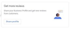 Get link for Google reviews