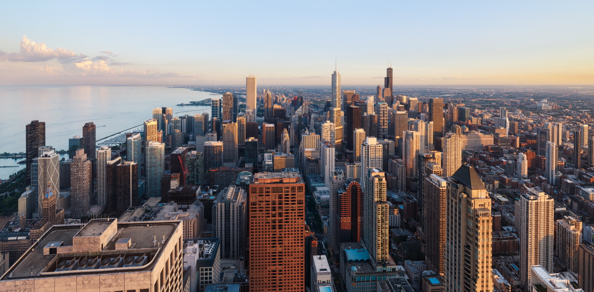 Chicago SEO consultant view from office