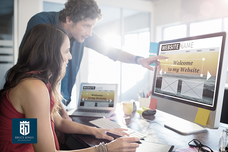 website business with seo consultant